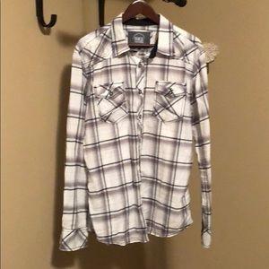 Men's BKE Athletic Fit Western Shirt